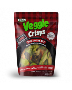 DJ&A Veggie Crisps Wok Veggie Mix