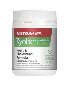 Kyolic Aged Garlic Extract Heart & Cholesterol Formula