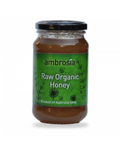 Raw Organic Honey