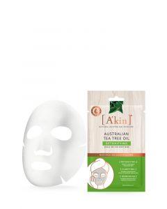 Tea Tree Oil Detoxifying Face Sheet Mask
