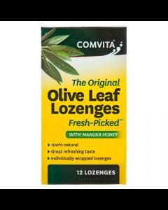 Olive Leaf Extract Lozenges With Manuka Honey