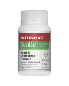 Kyolic Aged Garlic Extract Heart  Cholesterol Formula