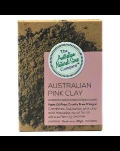 Face Soap Bar Australian Pink Clay