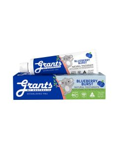Blueberry Burst Kids Natural Toothpaste - Fluoride Free
