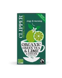 Green Tea Lime & Ginger