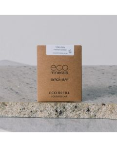 ECO refills of mineral foundation Flawless Light Tan
