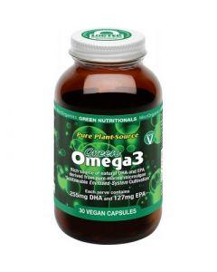 Green Omega3 Vegan Capsules (255mg + 127mg)