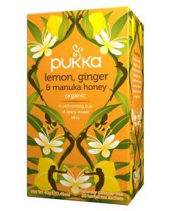 Lemon, Ginger & Manuka Honey Tea