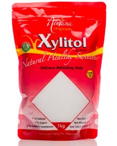 Xylitol Stand-Up Pouch Ziplock