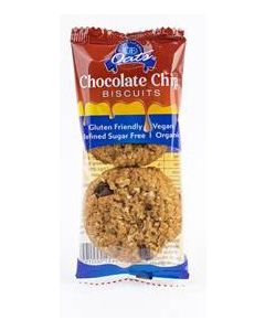 Gloriously Free GF Choc Chip Cookies Twin Pack