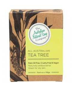 Face Soap Bar Tea Tree