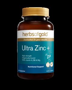 Herbs of Gold - Ultra Zinc+