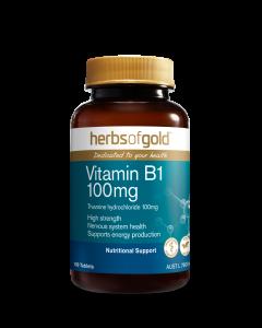 Herbs of Gold - Vitamin B1 100mg