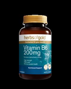Herbs of Gold - Vitamin B6 200mg